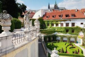 Дворцовый сад Прага