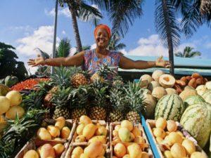 Фрукты в Доминикане