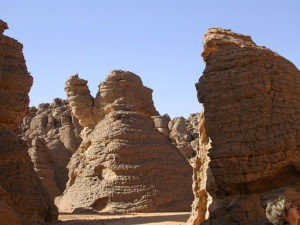 Тассилин-Адджер. Тайны пустыни Сахара.