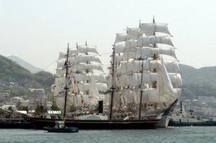 Морской праздник в Нагасаки