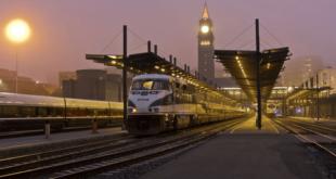 Поезд в Швеции