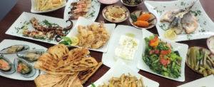 Рыбное мезе на Кипре