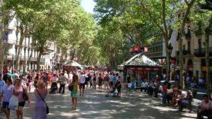 Город счастья Барселона