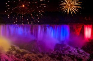 Ниагарский водопад. Онтарио