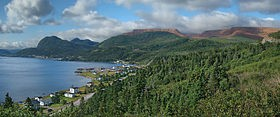 Озеро Уэстерн-Брук на острове Ньюфаундленд