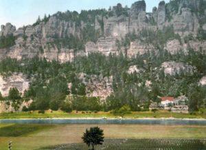 Саксонская Швейцария. Долина Эльбы