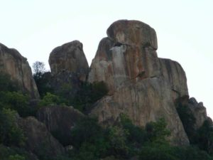 На Холмах  Матобо в Зимбабве..
