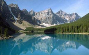 Национальный Заповедник Озерный край Банф. Канада