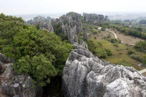 Каменный лес Лунаня. Китай