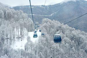 Лыжный отдых в Сочи