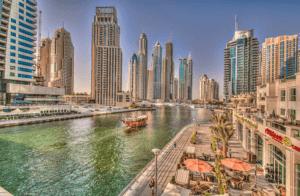 Дубай канал набережная