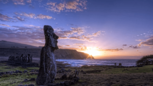 Моаи на острове Пасха