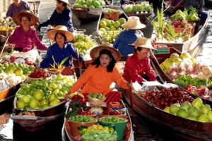 Плавоющий рынок Вьетнам