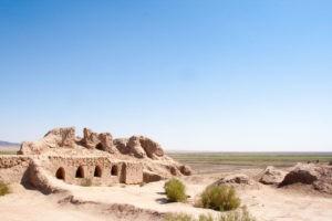 Пустыня Кызылкум на карте