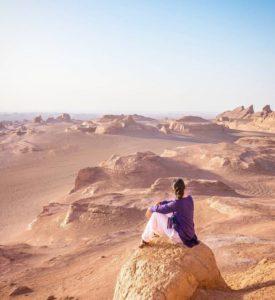 Дешти Кевир - большая соляная пустыня