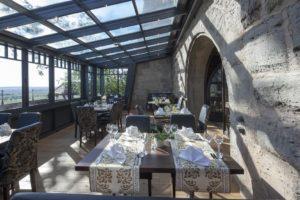 Ресторан замка отеля Кольмберг