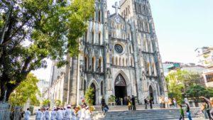 Кафедральный собор ханой вьетнам
