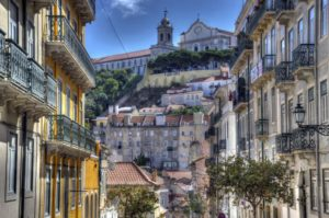 Винтажный порт Лиссабон