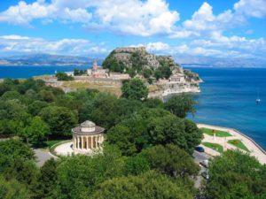 Греческий остров Корфу