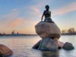 Дания, Копенгаген путеводитель, интересные места.