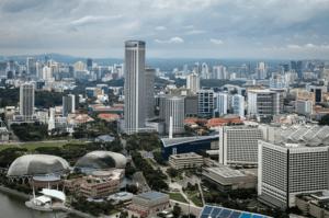 Сингапур панорама
