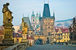 Небольшой обзор замка Пражский град Прага