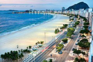 Рио — гора Сахарная Голова и пляж Копакабана