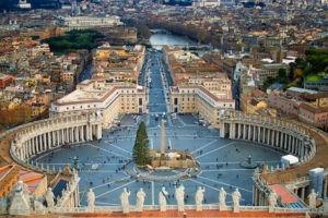 Площадь в Ватикане