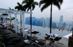 Marina Bay Sands - самый популярный отель в Сингапуре