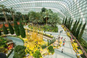 Парк солнечных деревьев в Сингапуре - сады будущего