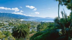 Санта-Барбара вид на город