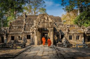 Ангкор Ват мавзолей