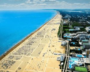 Бибионе пляж