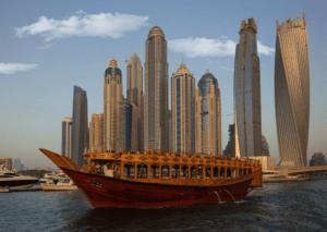Экскурсия по Дубаю на арабской лодке