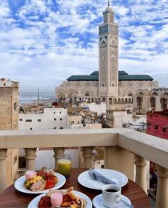 Часовая башня в Касабланке
