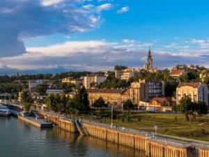 Река Дунай в Белграде